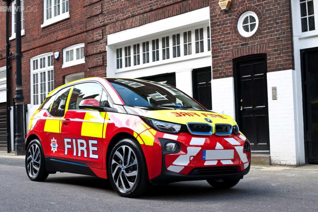 BMW i3 Fire