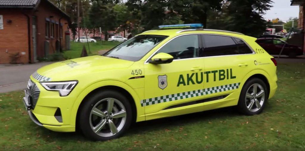 Audi e-tron ambulance