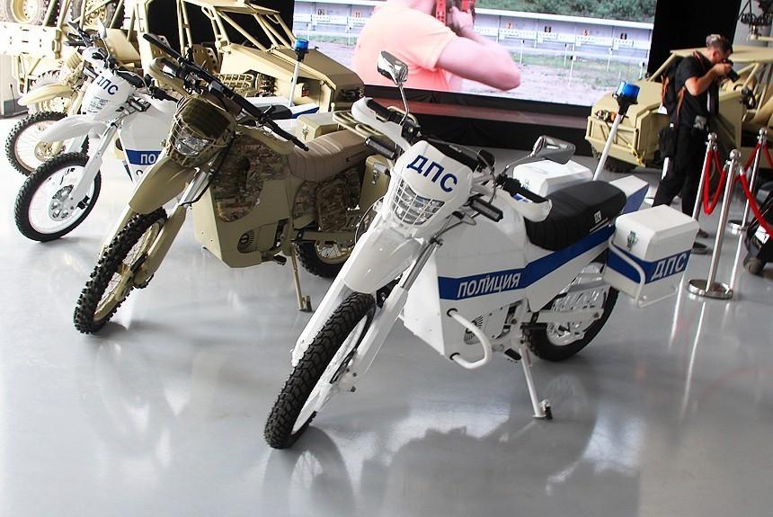 российский электромотоцикл иж