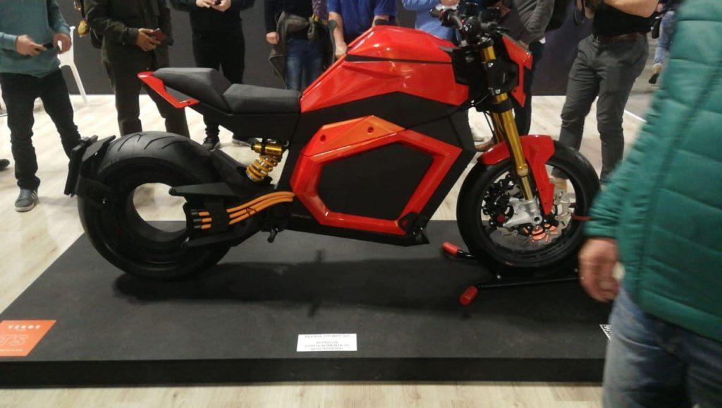 электромотоцикл Verge TS