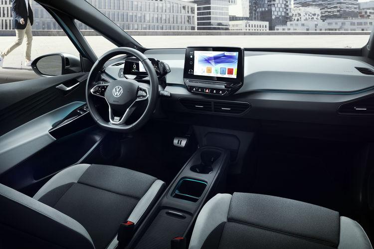 Volkswagen ID3 электромобиль салон