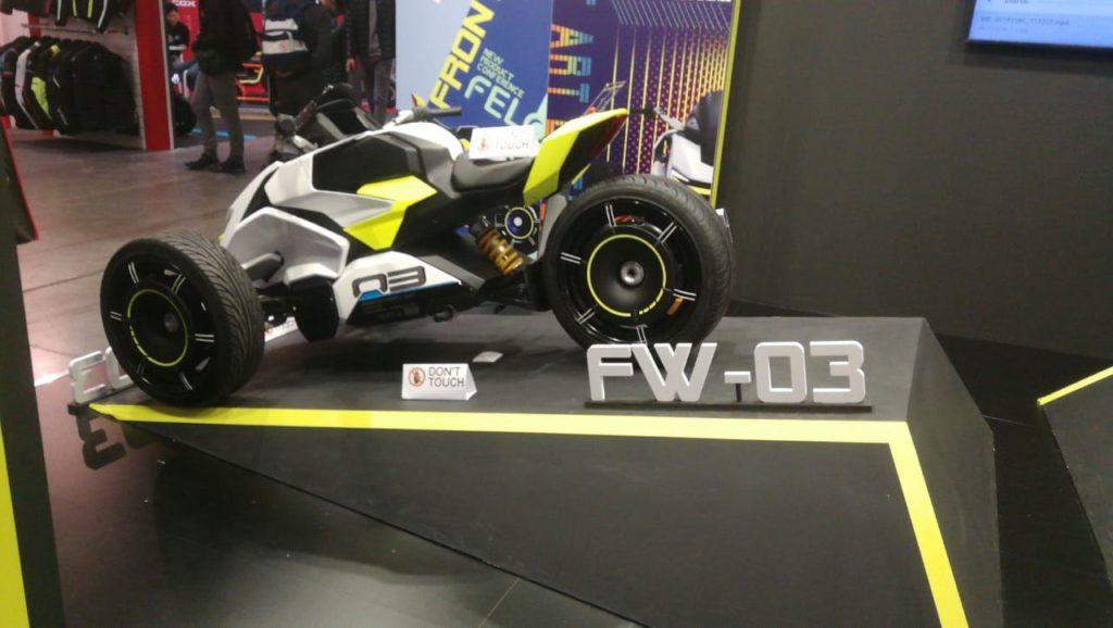 электромотоцикл FELO FW-03