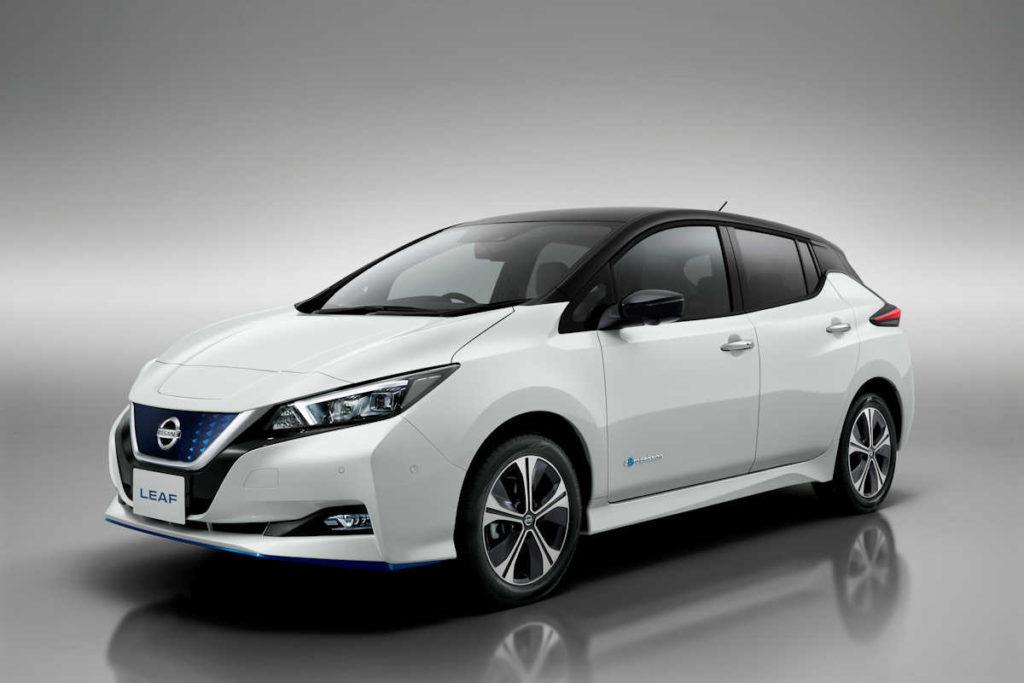 Nissan Leaf 2020 нового поколения в америке
