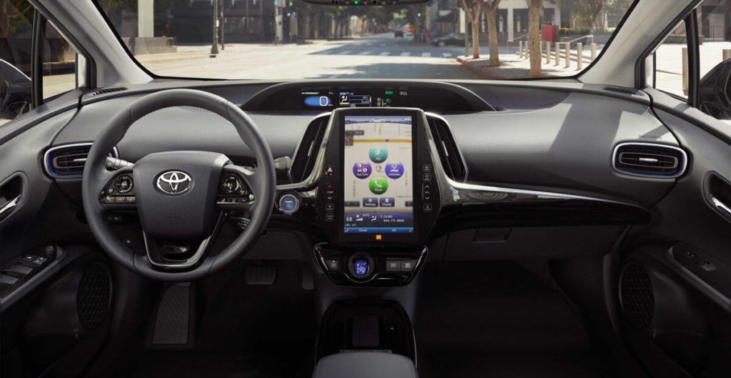 Toyota Prius 2020 в России характеристики