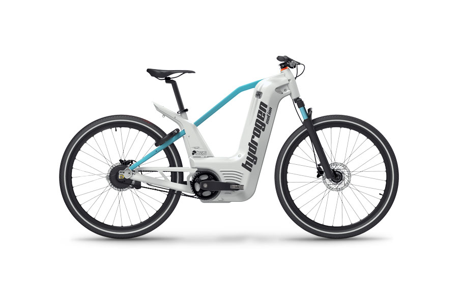Hyris Bike Alpha Hydrogen велосипед на водороде