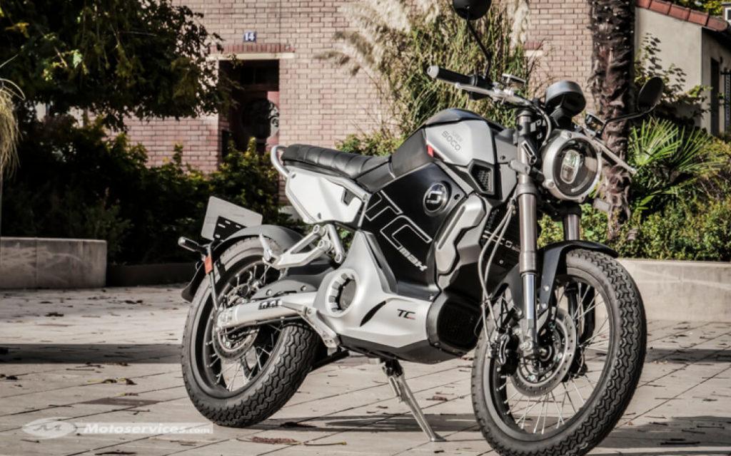 Super Soco TC MAX стал прототипом для дешевого электромотоцикла Revolt RV400