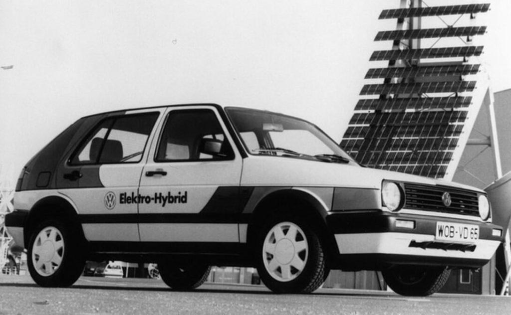 Электрический Volkswagen Golf II