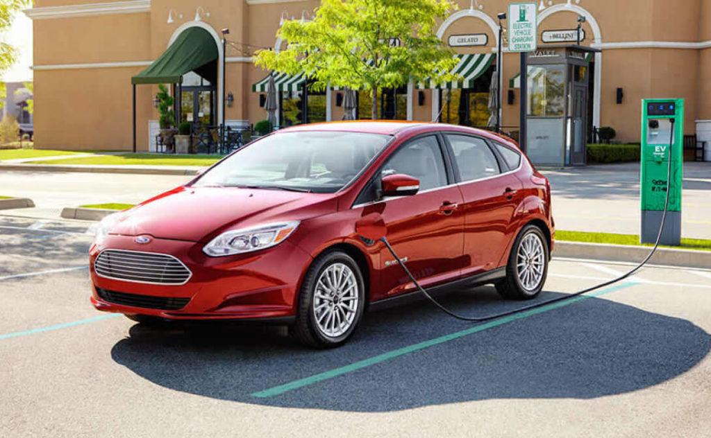 электромобиль Ford Focus Electric 2017