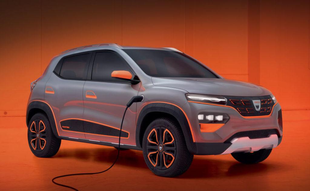 самый дешевый электромобиль Dacia Spring