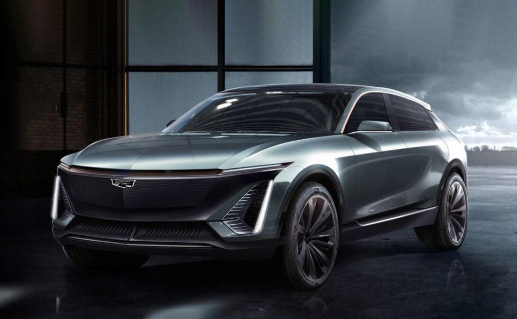 Концепт электромобиля Cadillac Lyriq