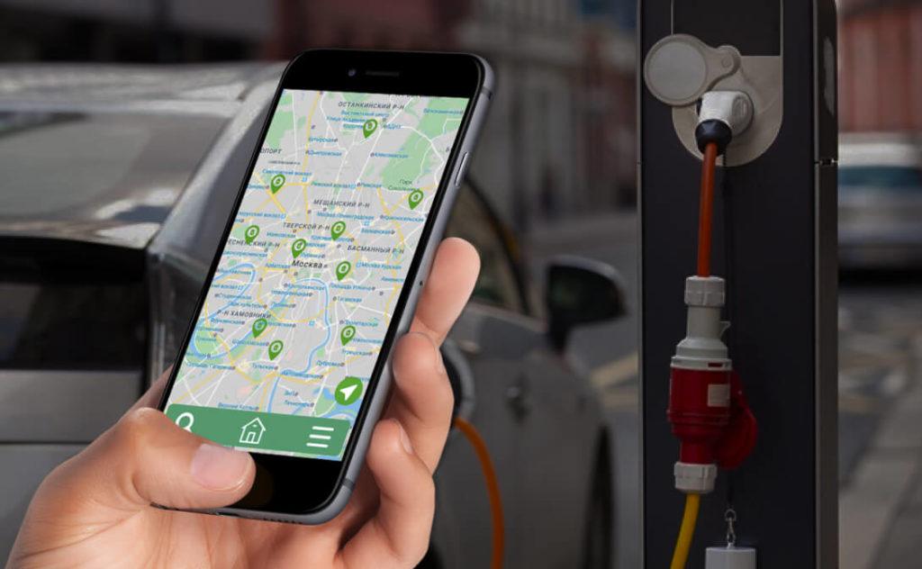В России анонсировали приложение для владельцев электромобилей