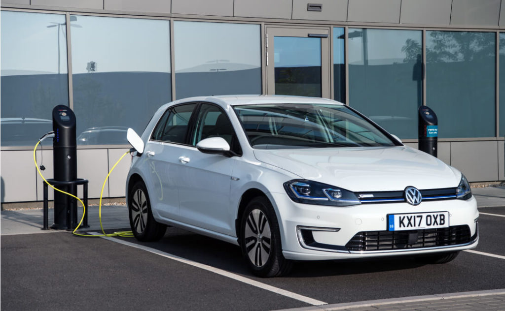 электромобиль VW e-Golf