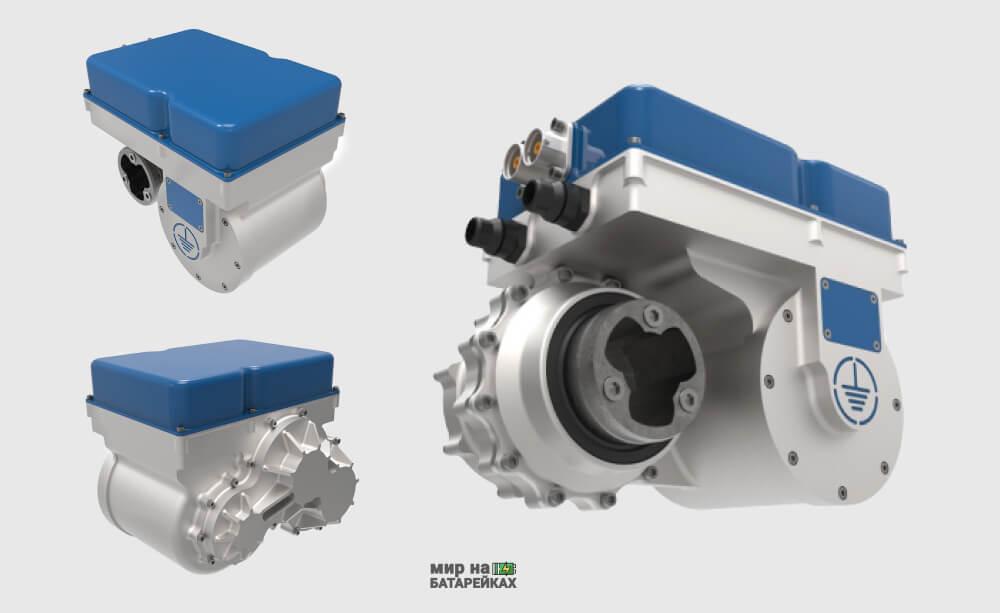 Производитель электрических силовых агрегатов  Equipmake не перестает удивлять своими разработками. Последний проект компании — электродвигатель Ampere. Его вес составляет менее 10 кг, при этом мощность 220 кВт (295 л.с.) и 30 000 об/м. Исходя из предоставленных данных мощность на кг веса не менее 20 кВт. Это вчетверо выше аналогов сходного размера на постоянных магнитах.