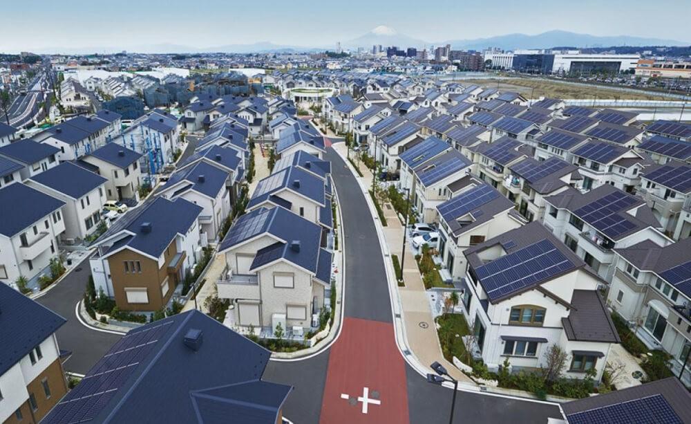 Fujisawa SST автономный город будущего