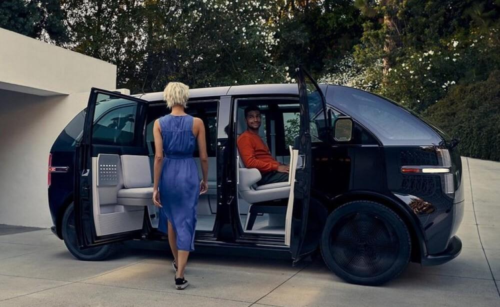 Электрический микроавтобус Canoo