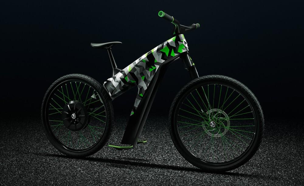 Электровелосипед Skoda Klement