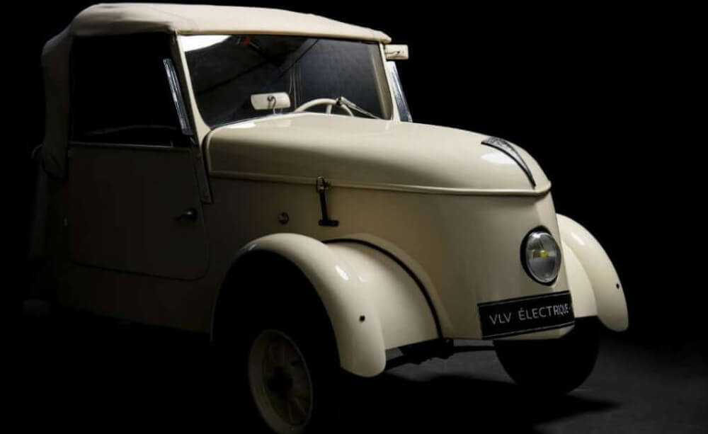 Peugeot VLV — электрокар из 1941 года