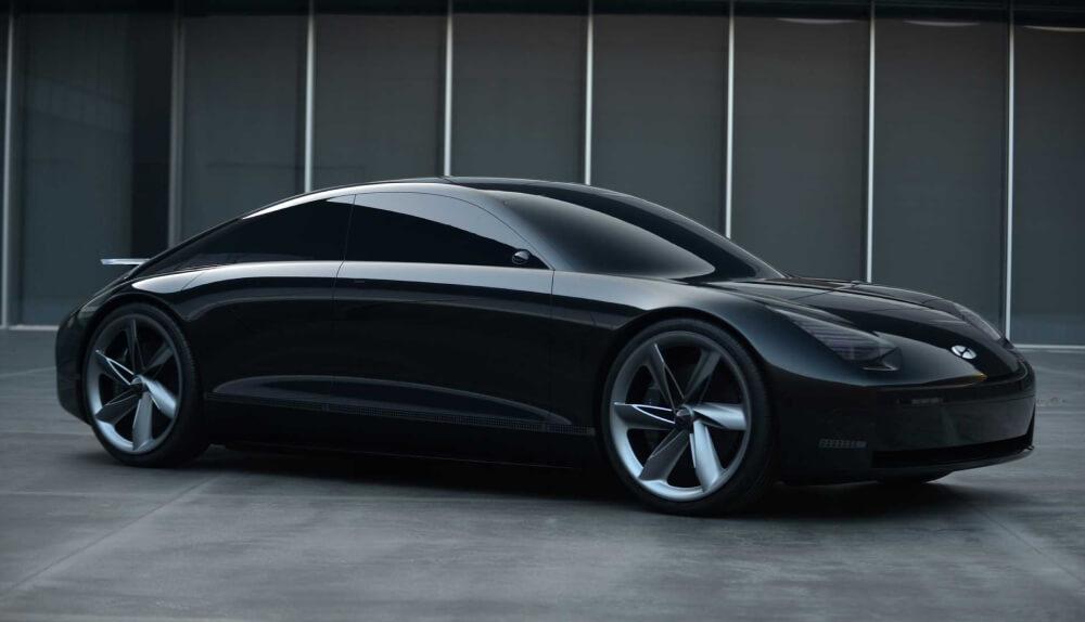 Концепт электромобиля без руля Hyundai Prophecy