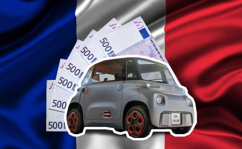 Льготы во Франции на покупку электромобиля начнут действовать с 01.06.2020 года, рассчитаны они как на юридических так и физических лиц. При покупке полностью электрического автомобиля, частное лицо получит 7 тысяч евро, юридическое 5 тыс. евро. Данная сумма почти нивелирует разницу в цене между ДВС и EV автомобилем одного класса.