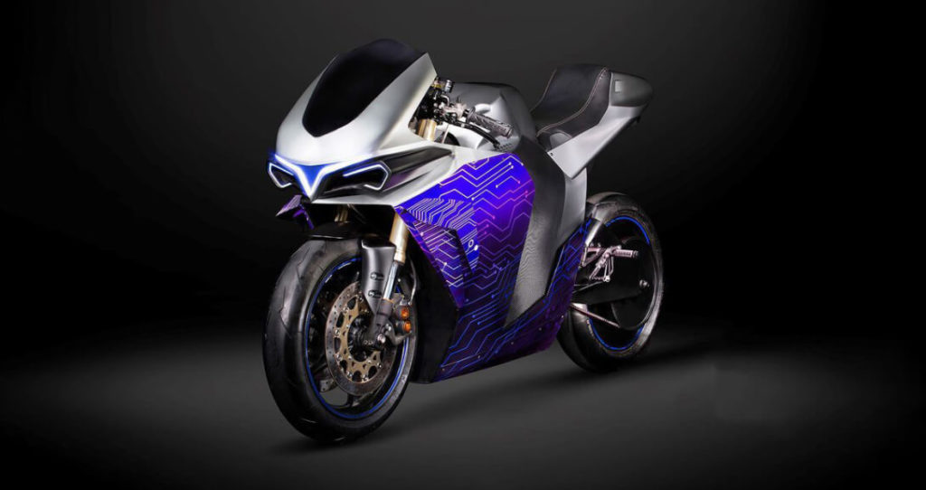 Электрический мотоцикл Emula McFly от компании 2electron полностью имитирует и передает ощущения от вождения мотоцикла с ДВС