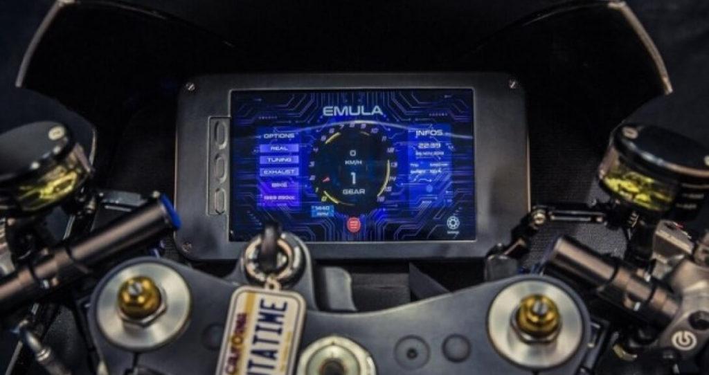 Приборная панель электромотоцикла Emula McFly